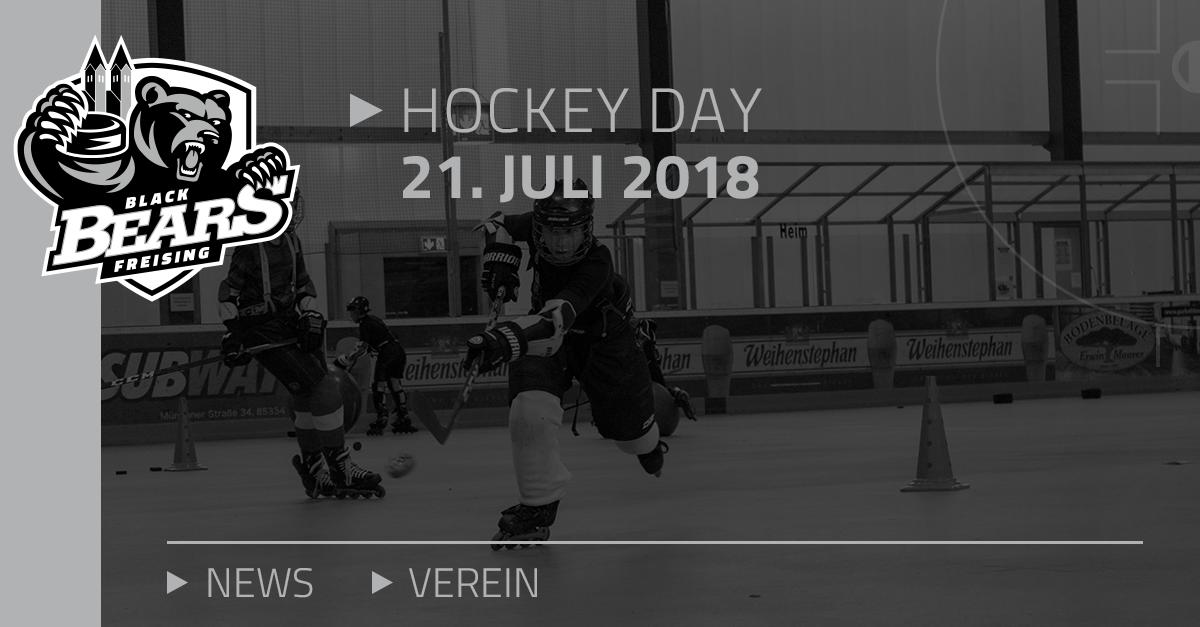 Black Bears Freising » Hockey Day am 21. Juli 2018